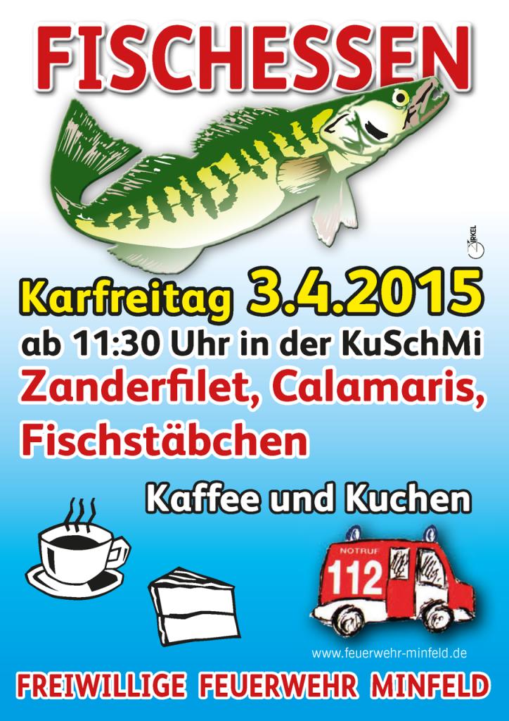 Fischessen am Karfreitag 2015