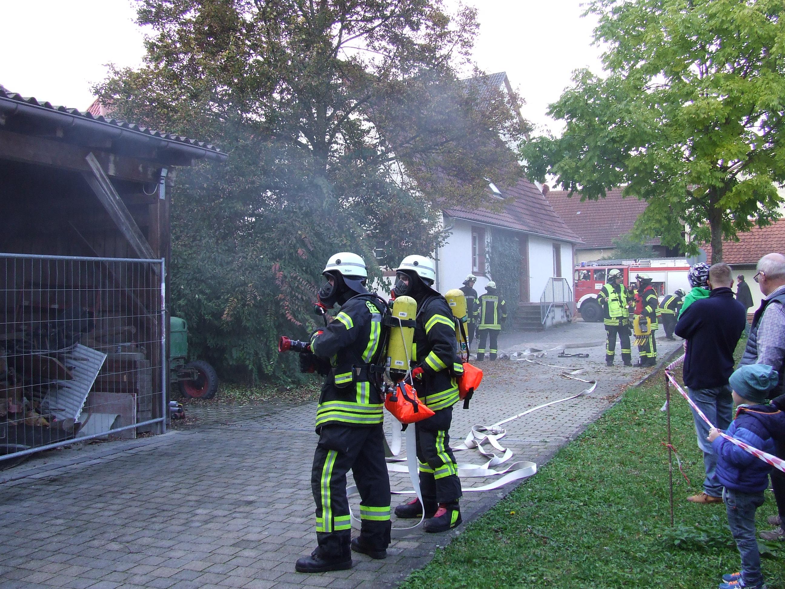 Brandbekämpfung unter Atemschutz