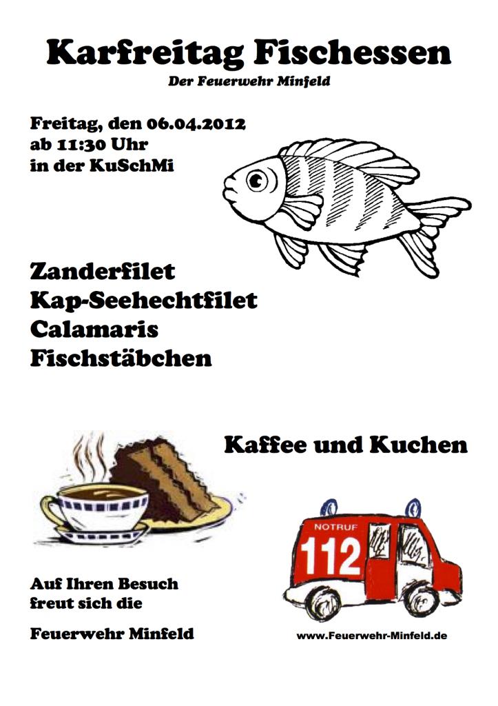 Plakat Fischessen 2012