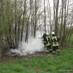 Flächenbrand Minfeld K16 am 15. April 2012 1